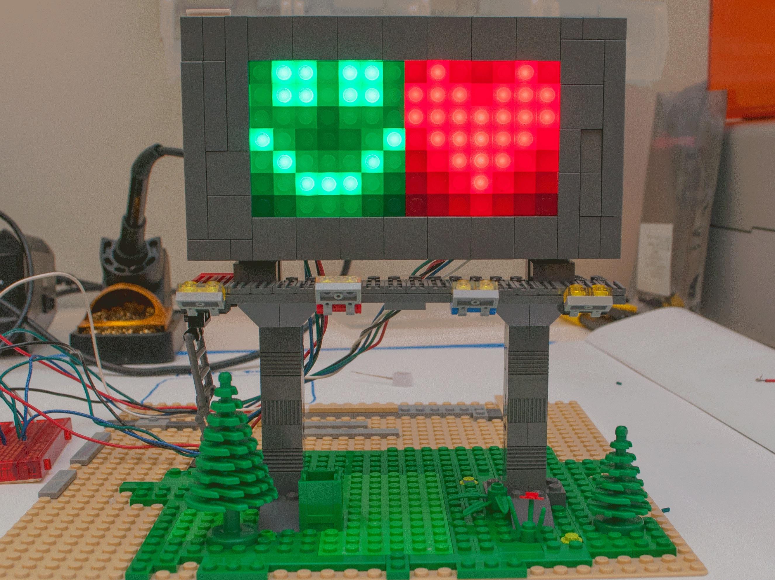 Novelty LED Matrix Board - ScientificsOnline com