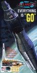 Atlas Rocket with Mercury Capsule Model Kit