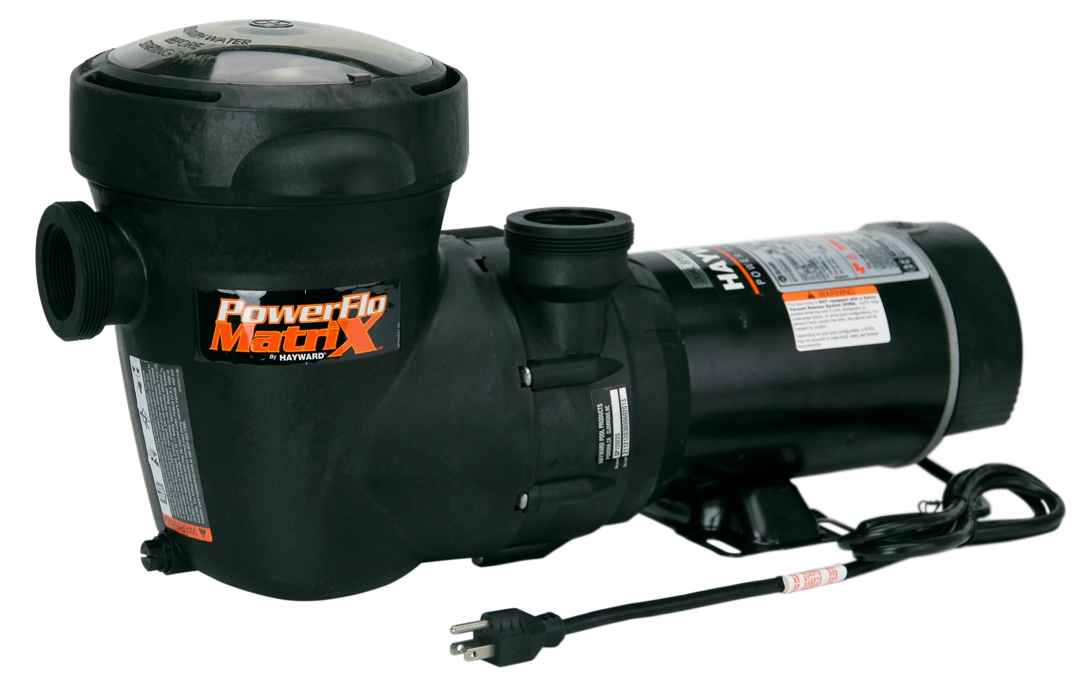 Hayward Power Flo Matrix 1hp 2speed