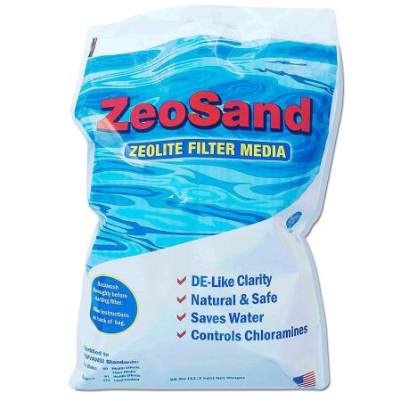 ZeoSand® Alternative Pool Sand Filter Media-50LB