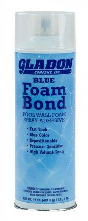 Gladon Pool Spray Foam Tack - 17 oz. - Blue