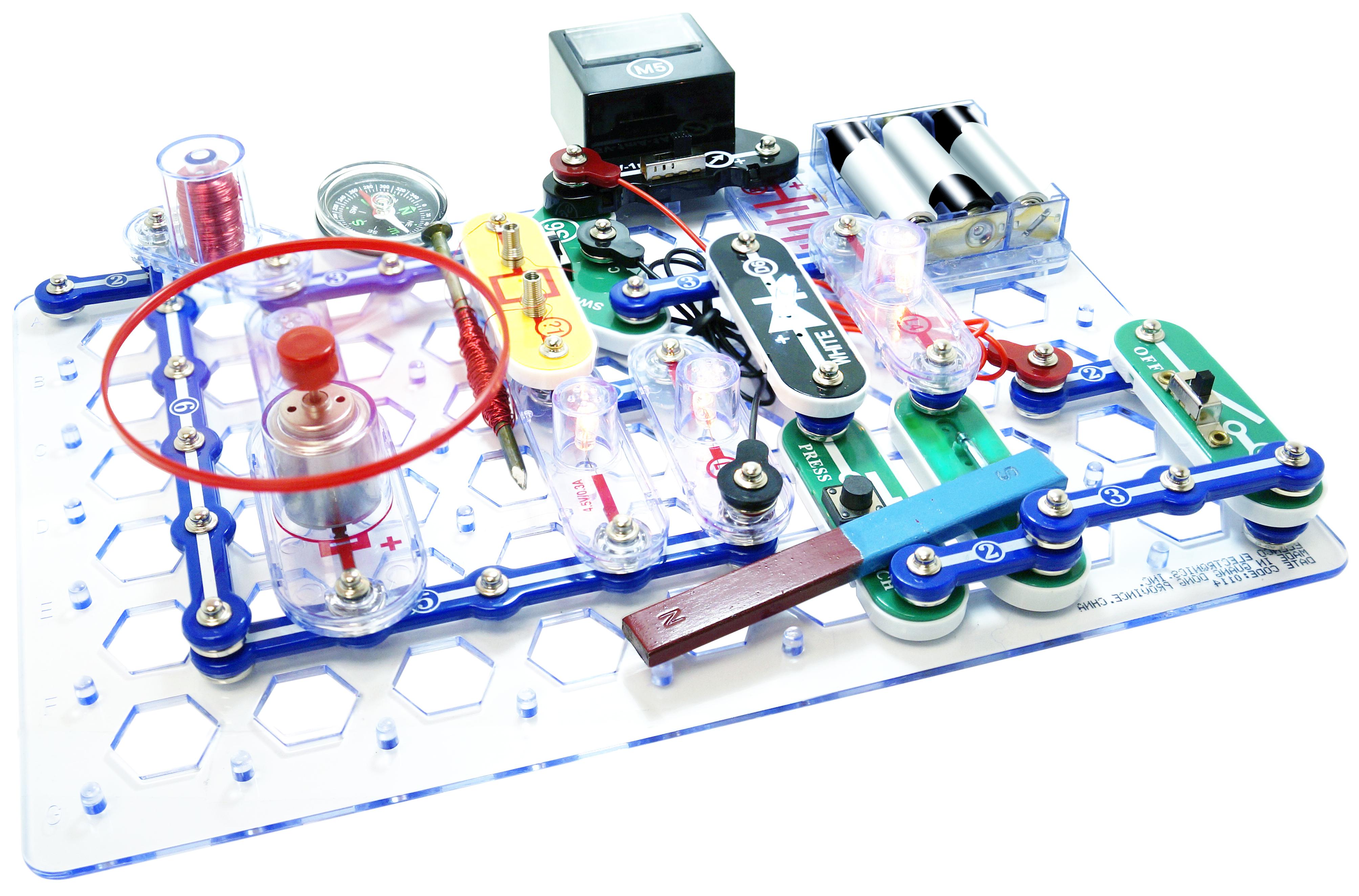 Elenco Snap Circuits Stem Electronics Discovery Kit 756619011905 Ebay Green Alternative Energy