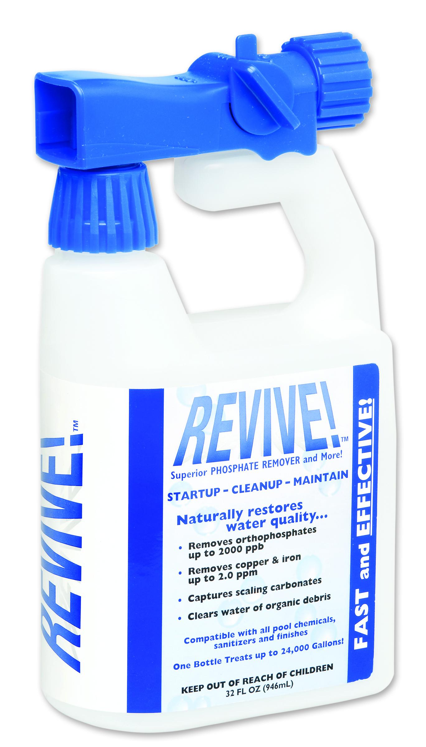 Revive Pool Phosphate Algae Remover 16 Oz