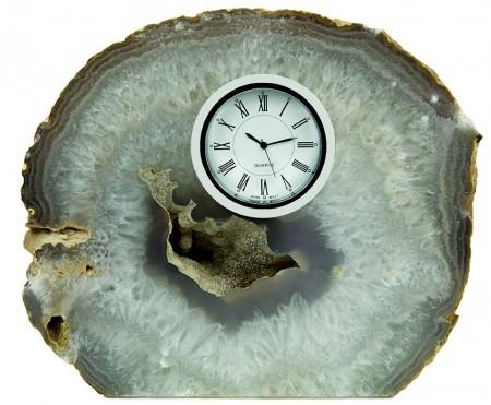 Natural Agate Clock