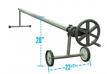 Sun2Solar® Easy Gear Stainless Steel Cover Reel (Various Widths)