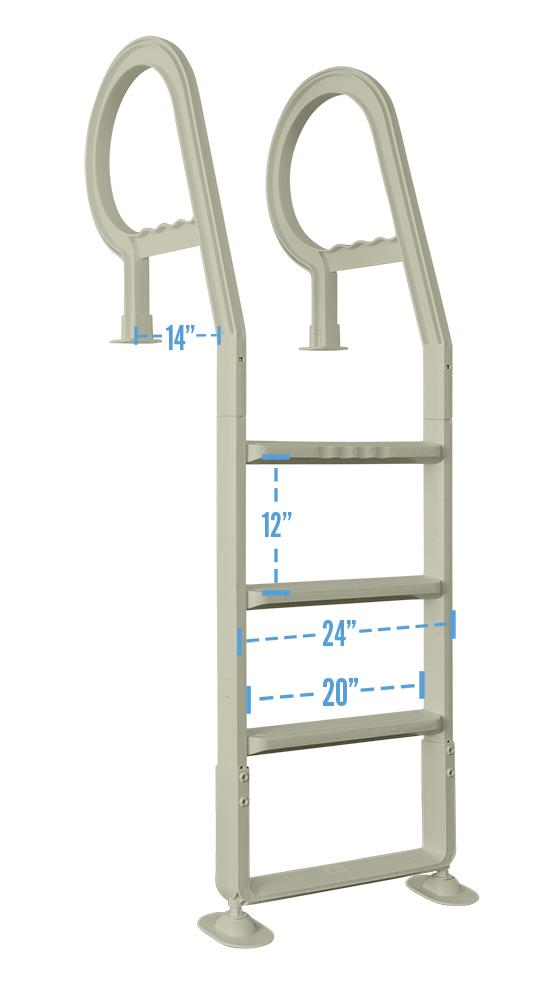 Heavy Duty In Pool Ladder