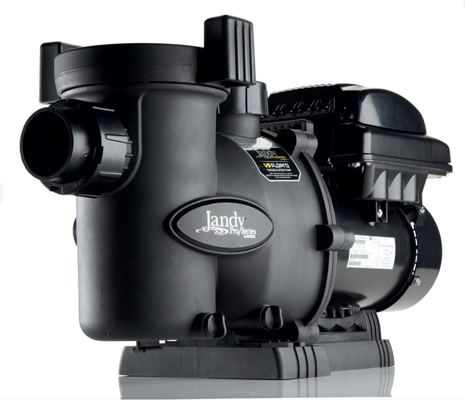 Jandy pro series 1 0 hp vs flopro inground pool pump for Jandy pool pump motor replacement