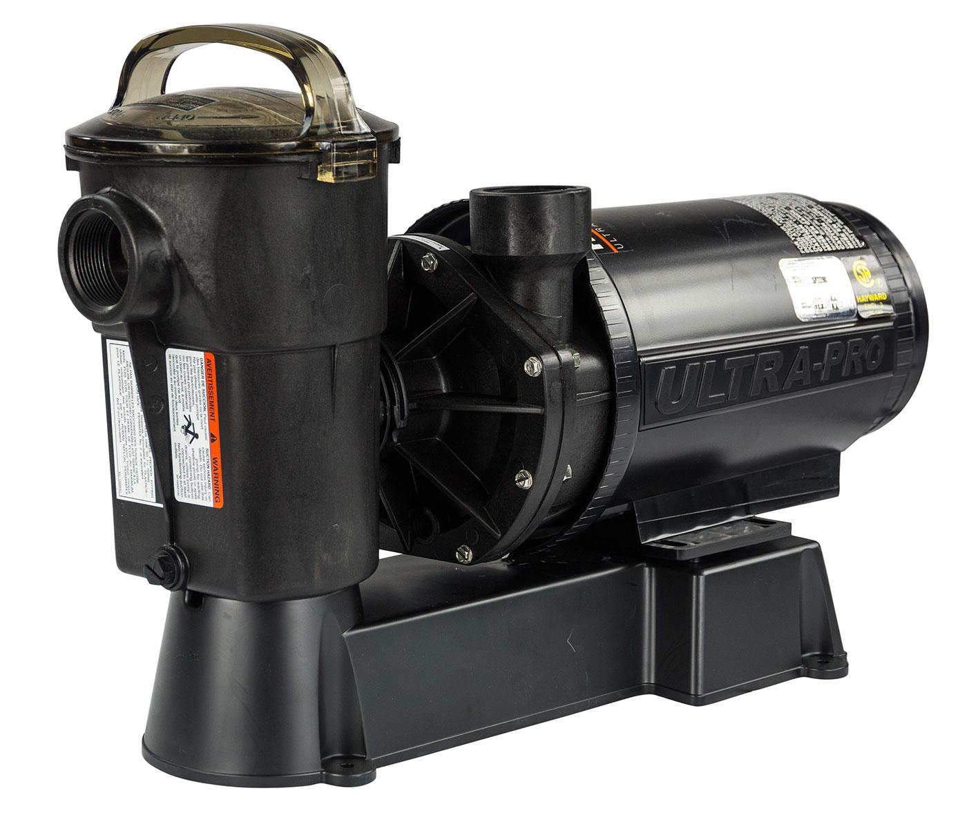 Black Hayward W3SP1580 Pool Pump, 1 HP