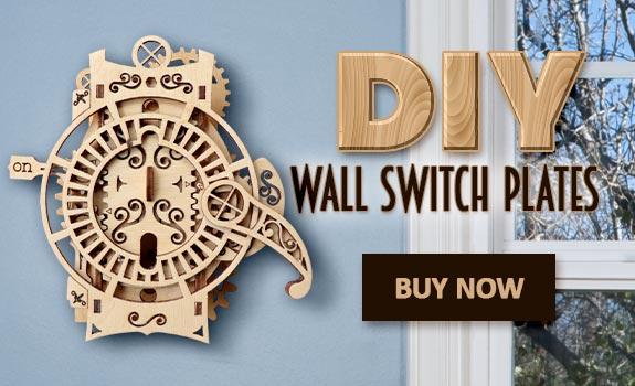 DIY Wall Switch Plates