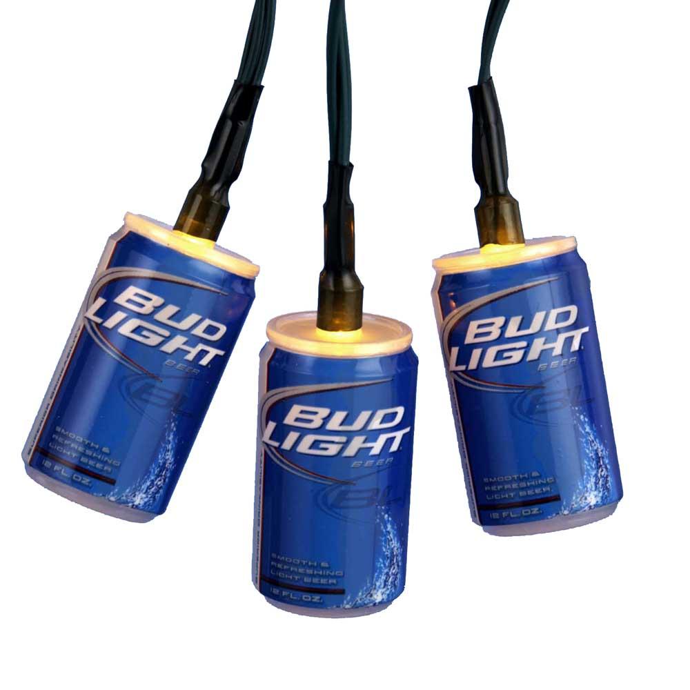 Bud Light Beer Can Christmas Lights