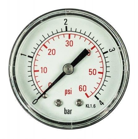 "Aqua Select® Pressure Gauge ¼"" Back Mount"