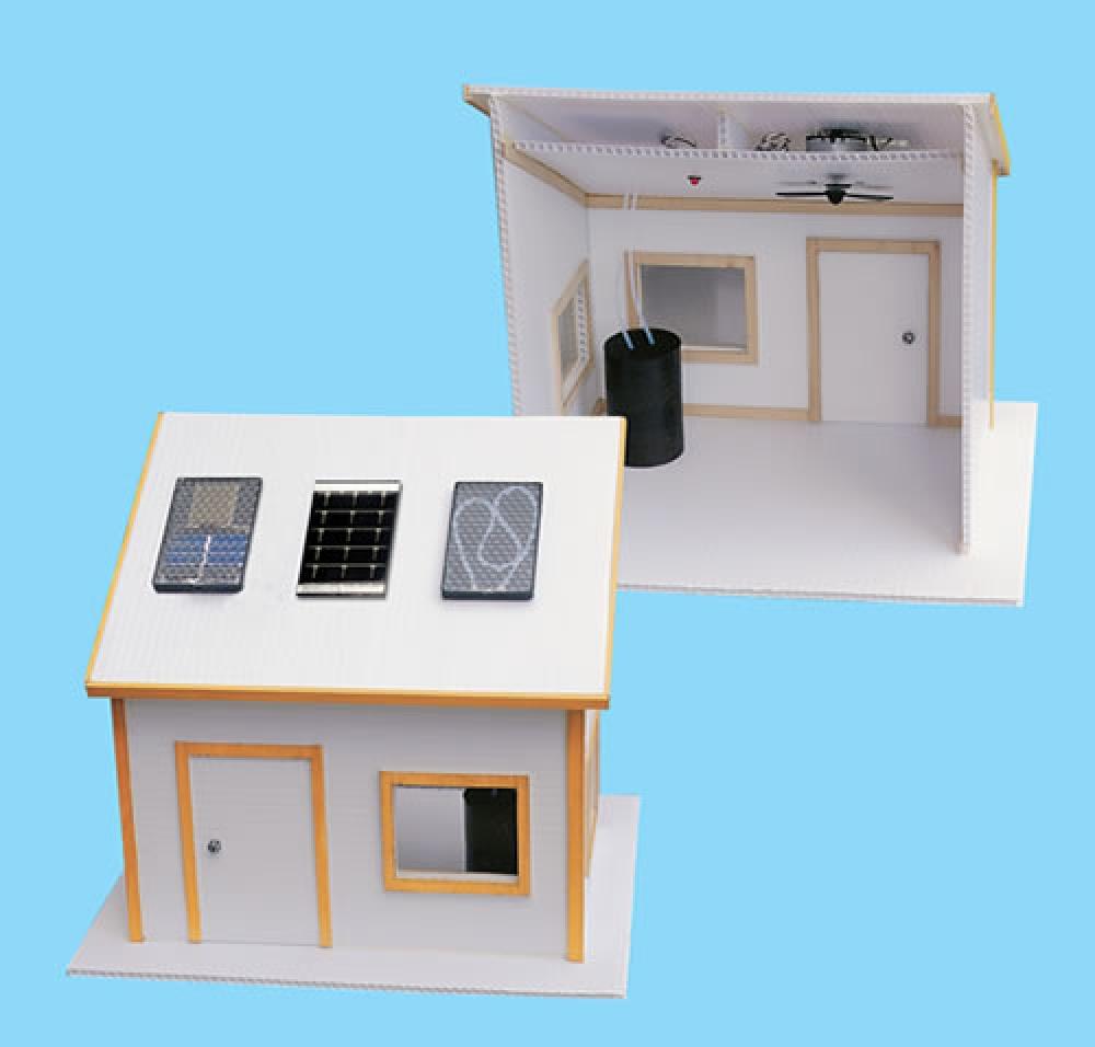 Building model solar house