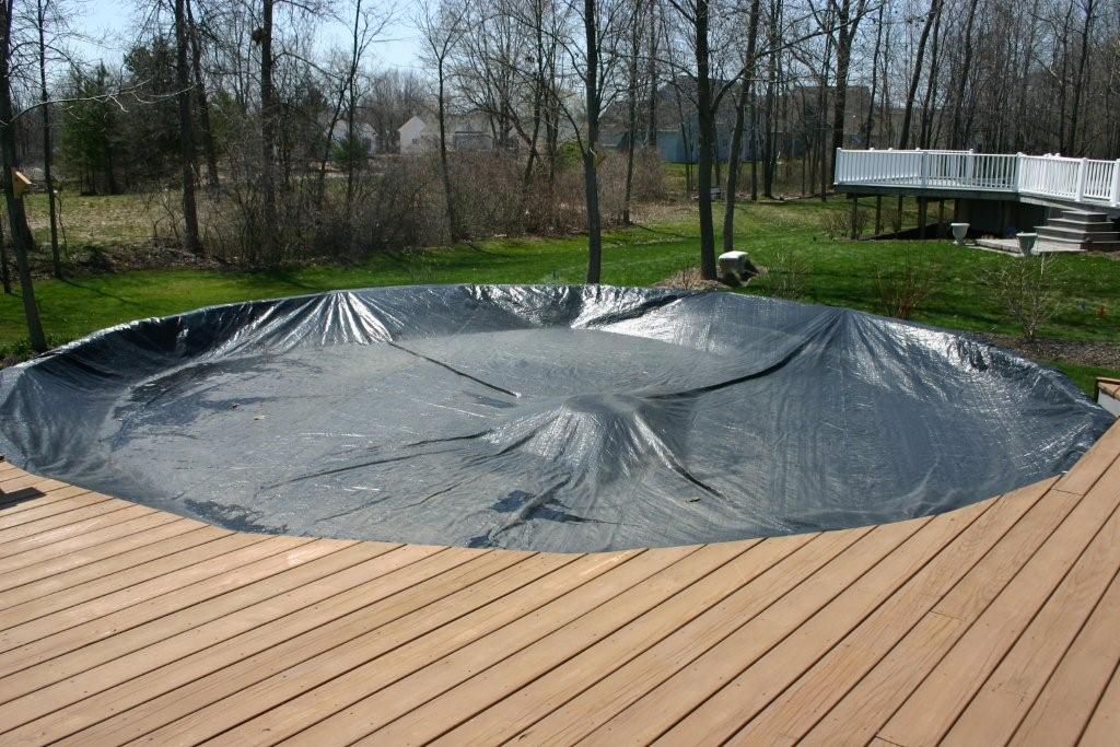 12 Custom Blue Black Pool Cover For Kiddie Pools Amp 1 Quot Top