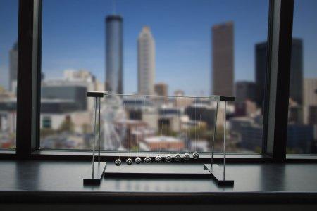 Pendulum Wave Desktop Model