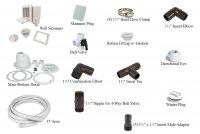 Complete Plumbing Kit w/ Main Drain