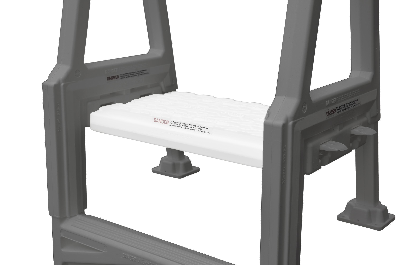 Confer ladder platform for the above ground inpool ladder - Above ground pool platform ...