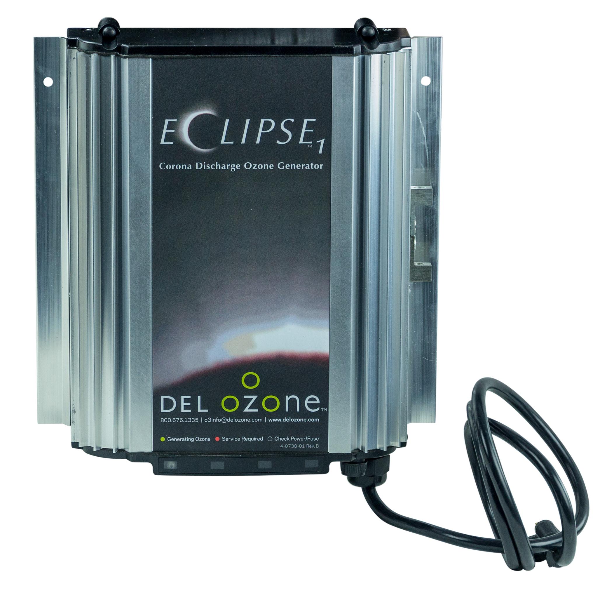 Del Ozone Eclipse 1 Ozone Generator 110 Volt