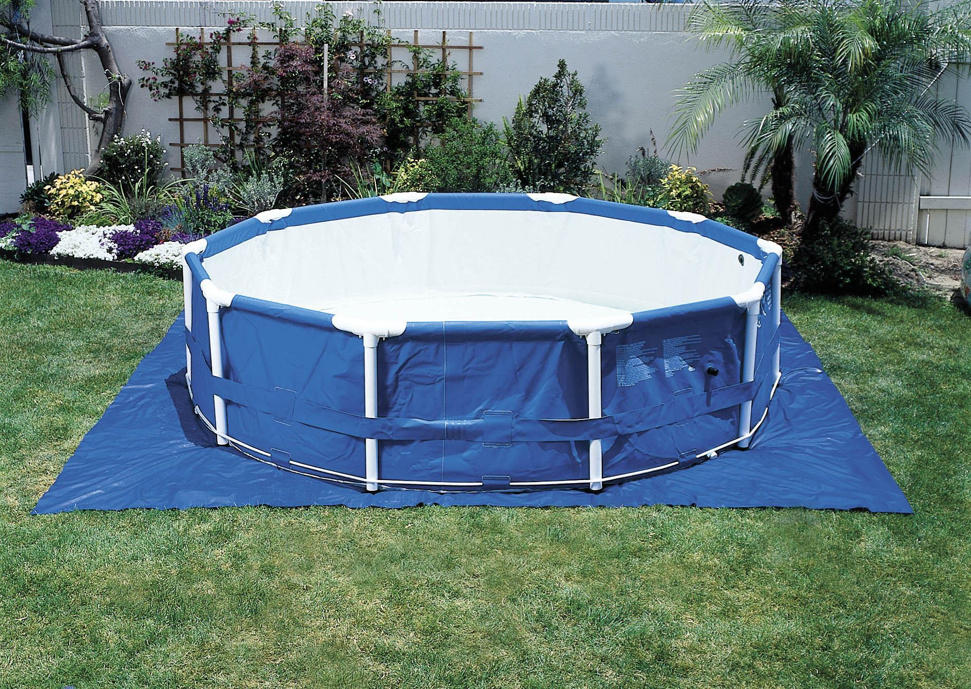 Intex 174 Pool Ground Cloth 15 189 Square Poolsupplies Com