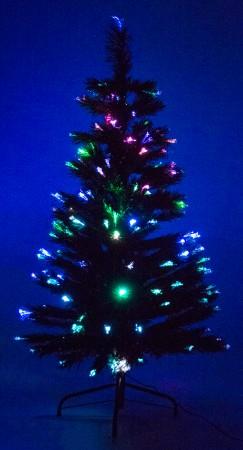 Green Fiber Optic Trees (Various Sizes)