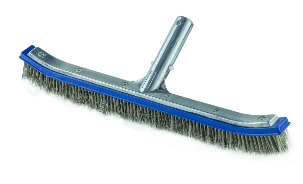 "Pool Brush Premium 18/"" Swimming Pool Cleaning Brush"
