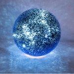 Lighted Celestial Reflecting Globe (8