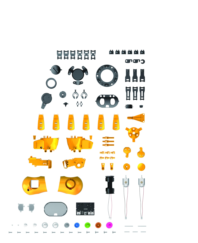 KIKO 893 Artificial Intelligence Robot Kit