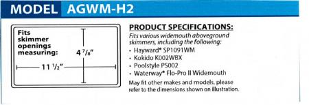 Winter Skimmer Plugs™ (Various Sizes)