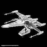 Poe Dameron's X-Wing Metal Model Kit