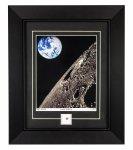 Lunar Print with Moon Meteorite Specimen
