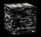 Star Map – Laser Etched Crystal