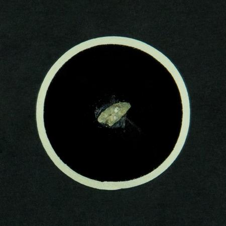 Mars Meteorite Print with Specimen