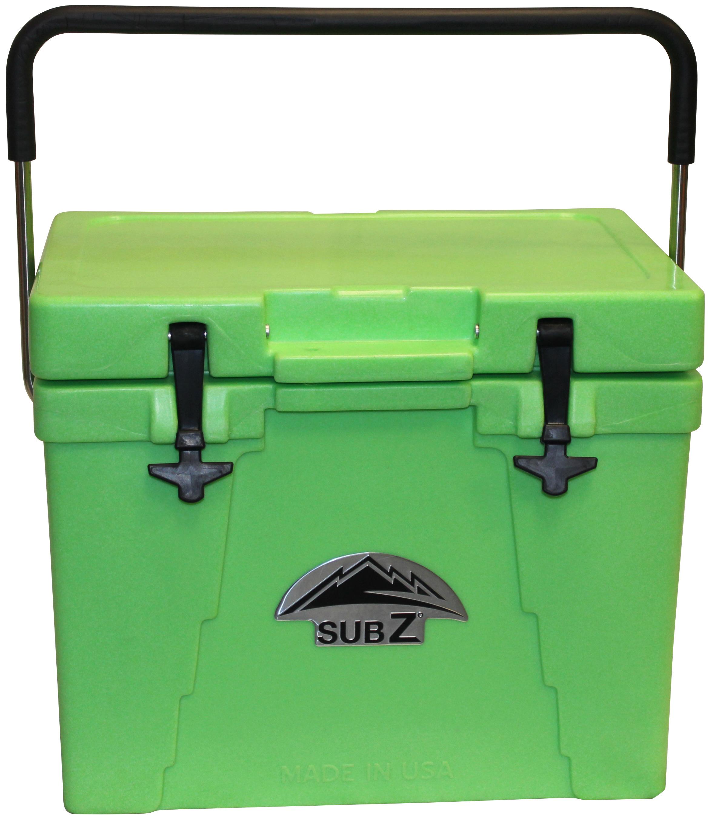 Sub Z 23 Qt Cooler Green Poolsupplies Com