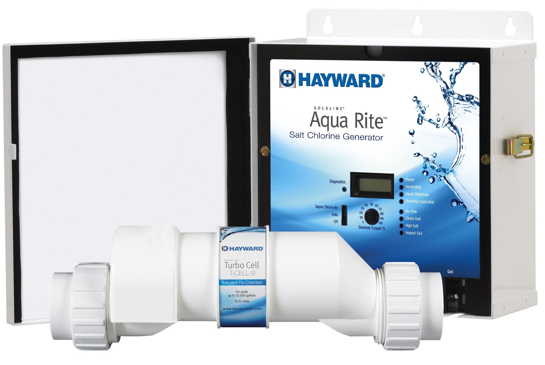 Hayward Aqua Rite In-ground Pool Salt Water System - 25,000 ...