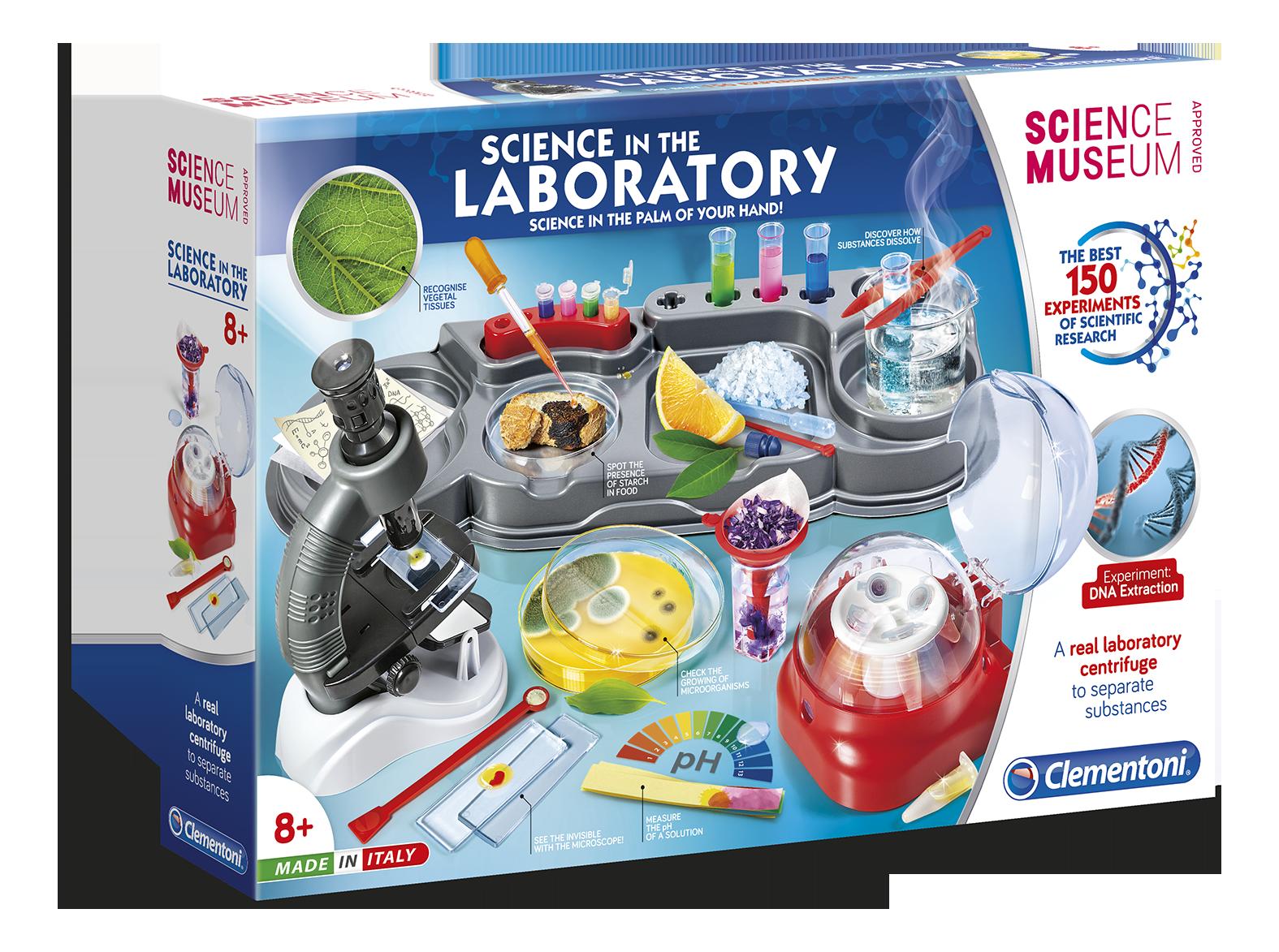 Science & Play-სამეცნიერო ლაბორატორია1