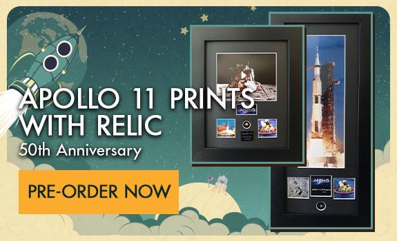 Pre-Order the Apollo 11 Print with Relic!