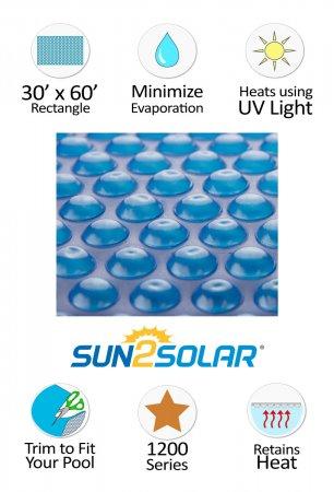Sun2Solar® Supreme Blue Solar Cover - 1200 Series