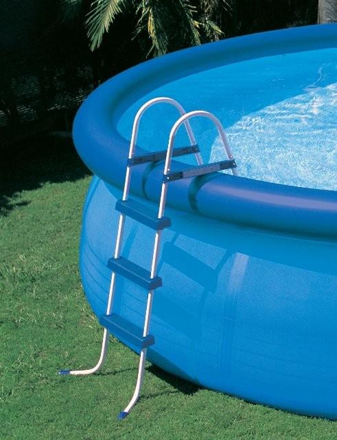 42 intex pool ladder for Piscinas plasticas redondas
