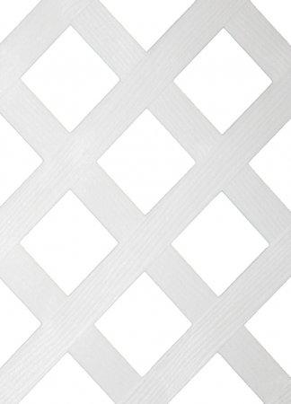 Fanta Sea™ White Plastic Lattice Fence (48 in.)