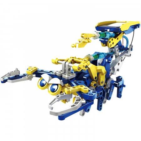 12 in 1 SOLAR HYDRAULIC Construction KIT Model Build Robot Toys STEM