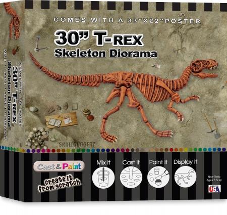 """T-Rex - 30"""" Diorama"""